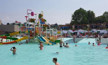 Skønne poolområder på ferien