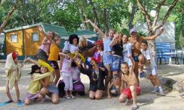 Aktivitetsmuligheder på campingpladsen