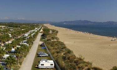 Las Dunas Spanien camping
