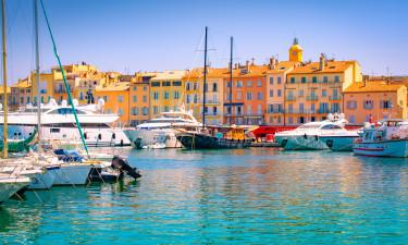 Besøg charmerende St. Tropez