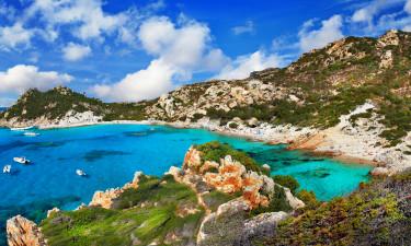 Smuk placering ved øen La Maddalena