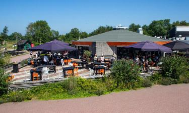 Restaurant og indkøb