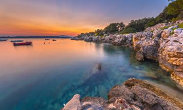 Luksuscamping i Kroatien