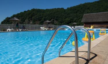 Pool Camping Le Gibanel in der Dordogne