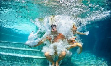 Badning og afslapning på Piantelle