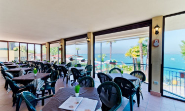 Restaurant Camping Le Palme am Gardasee