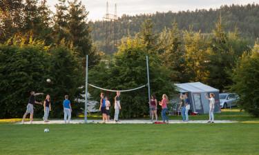 Aktiviteter og faciliteter på Camping 2000