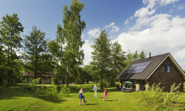 Bo komfortabelt i feriebolig på Aelderholt