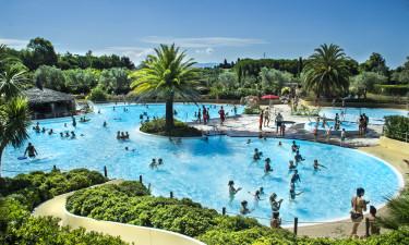 Kæmpe poolområde