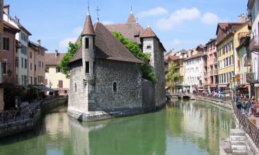 Besøg Annecy by