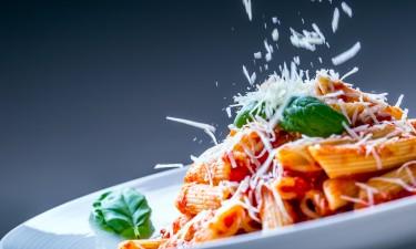 Smag på lækre Italienske retter