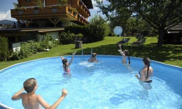 Hyggelig have og pool