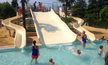 Kæmpe vandland med 4 pools