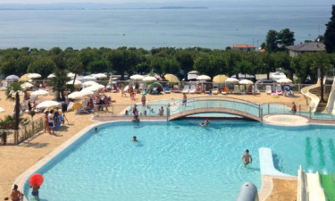 Jezioro Garda Lido camping