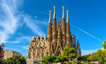Barcelona er strand, by og camping