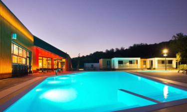 Pool, Strand und Einrichtungen am Platz