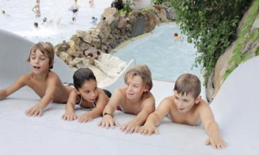 Vandland og udendørs pool