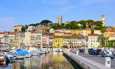 Camping Côte d'Azur direkt am meer