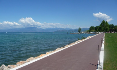 Jezioro Garda kempingi Del Garda