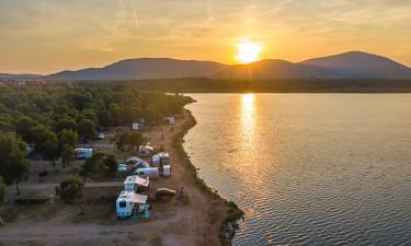 Hold campingferie på Laguna Blu