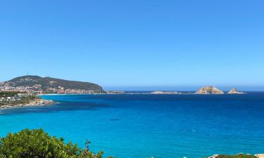 Rolig familiecamping på Korsika