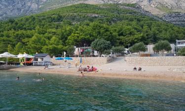Baseny, plaża i udogodnienia na miejscu