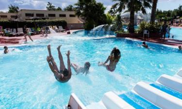 Pool Camping La Plage et le Bord de Mer