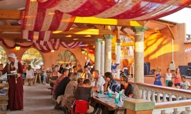 Restaurant Camping Le Fréjus an der Côte d'Azur