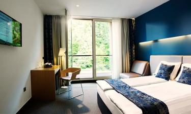 Bo i moderne og komfortable hotelværelser