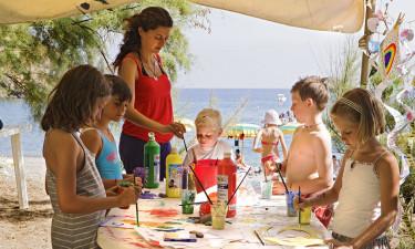 Børneklub og øens naturområder
