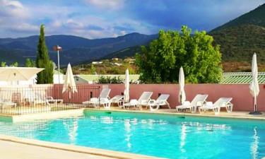 Pool Camping La Listra auf Korsika