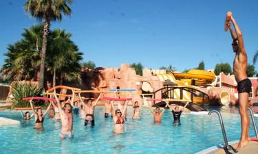 Pool Camping Les Palmiers (Hyéres) an der Côte d'Azur