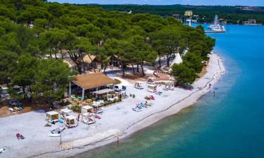 Små, afslappende pladser i Kroatien