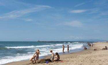 Tag til stranden eller på tur i den smukke natur