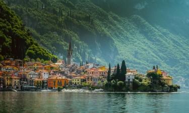 Comosøens små charmerende byer