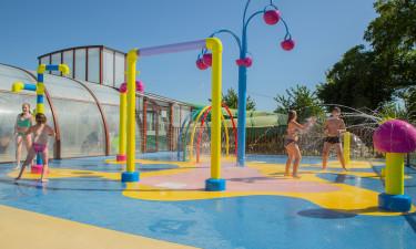 Overdækket pool