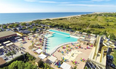 Camping Les Mediterranees Beach Garden - Languedoc