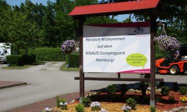 Was spricht für Luxus Campen in KNAUS Campingpark Hamburg?