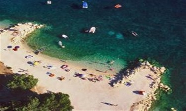 Direkte adgangs til Pags smukke strande