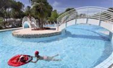 Skønt poolområde