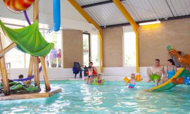 Indendørs pool og gode aktiviteter