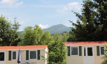 Campingplads ved Krkonosebjergene