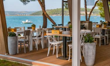 Restaurant Camping Lanterna in Istrien