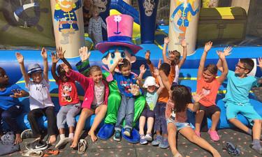 Børneklub, boldspil og aktiviteter
