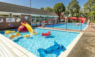 Svømmefaciliteter på Klein Canada campingplads