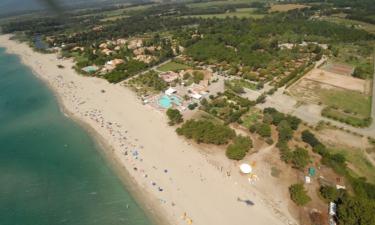 Camping Marina d'Erba Rossa auf Korsika