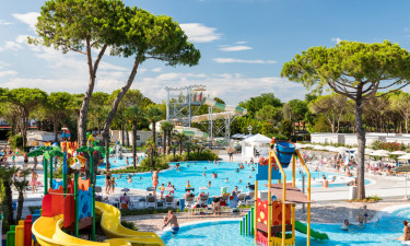 Nyt og lækkert poolområde