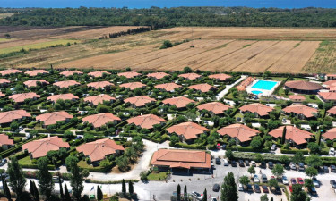 Camping Villaggio Mare Verde in der Toskana