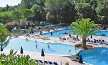 Plads med mange pools