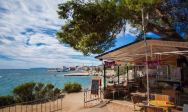 Restaurant Camping Rapoća auf Dalmatien